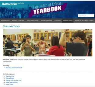 Yearbook Help Yearbook Today