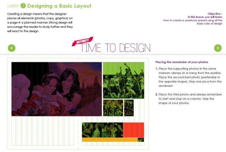 top 10 rules for teaching yearbook design to your staff