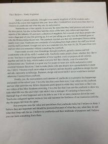 Beliefs essay