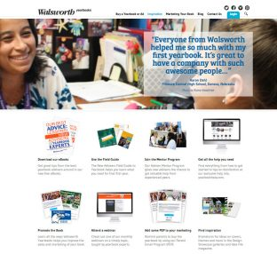 Walsworth new yearbook advisers web page