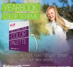 yearbook color palette