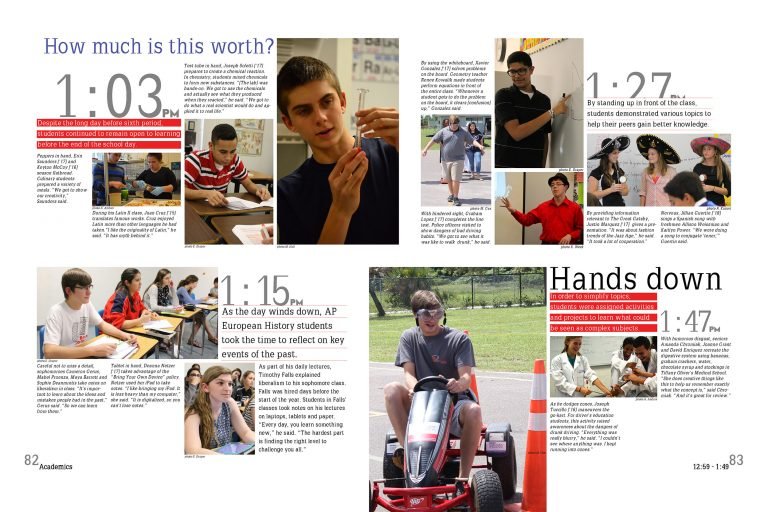 use these tips to get new angles on your yearbook academics coverage