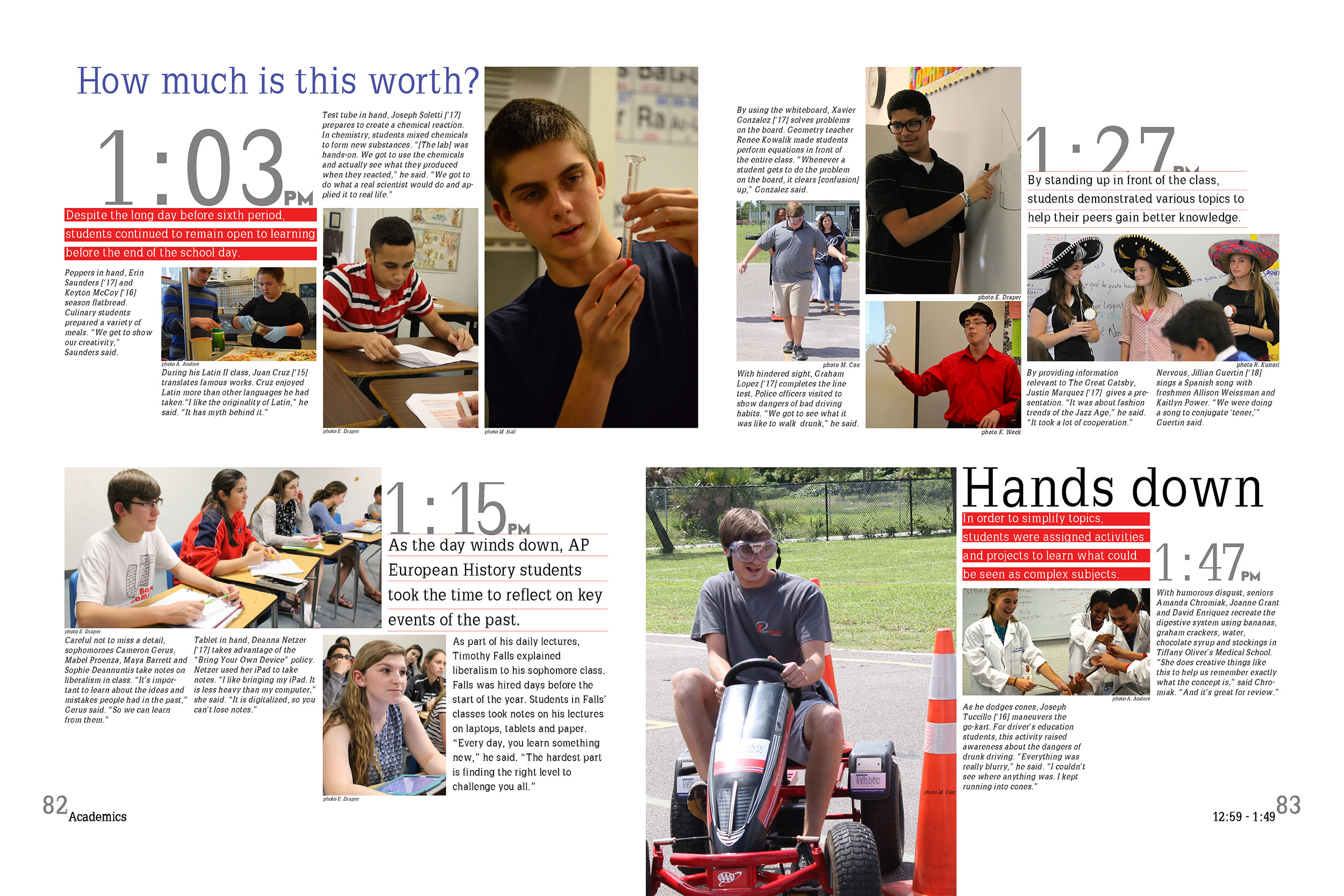 30+ Beautiful Yearbook Layout Ideas | Yearbooks, Yearbook ...  |Academic Spreads For Yearbook Ideas